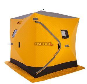 Палатка зимняя FISHTOOL FishHouse 2T thermal 2-местная фото